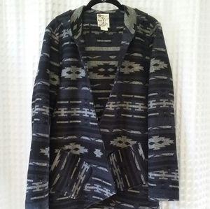Tulle Open Cardigan Coat